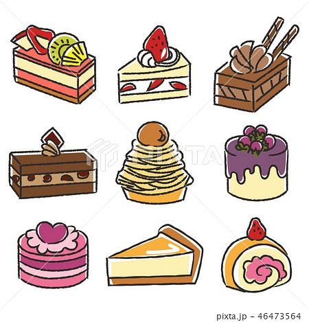 いろいろなケーキ1 46473564
