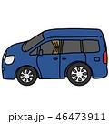 車フロントガラスのカーテン 46473911