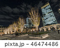 東京駅前のイルミネーション 46474486