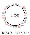 新 山手線路線図 46474882