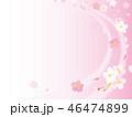 桜 春 背景のイラスト 46474899