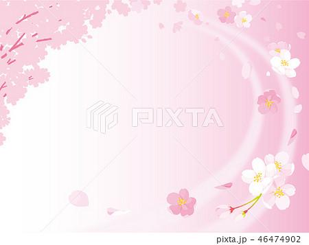 桜 イラスト 46474902