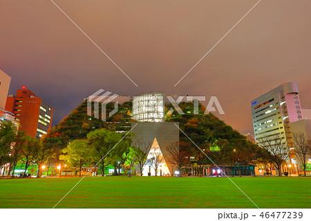 夜のアクロス福岡 福岡県福岡市中央区天神1丁目1番1号 46477239