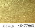 和紙 金箔 金色の写真 46477903