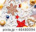 クリスマス 新年 平面図の写真 46480094