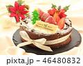 ケーキ クリスマス 苺の写真 46480832