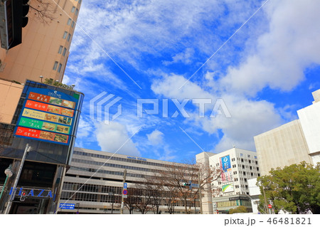 秋のJR博多駅筑紫口 福岡市博多区 46481821