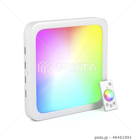 Led panel with changeable light colors 46481991