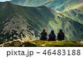 ハイキング 山歩き 岳の写真 46483188