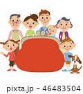 三世代家族とお財布 46483504