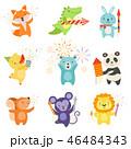 動物 マンガ 漫画のイラスト 46484343