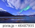 ノルウェーのオーロラ 46487935