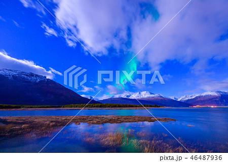 ノルウェーのオーロラ 46487936