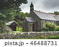 Irish traditional brick house. Northern Ireland. 46488731