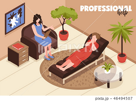 Depression And Professional Help Background 46494507
