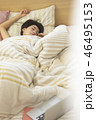 女性 睡眠 寝る  46495153