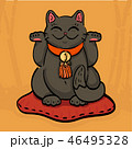 手招き マンガ 漫画のイラスト 46495328