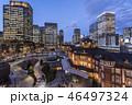 黄昏の東京駅 46497324