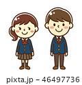 中学生 高校生 女子のイラスト 46497736