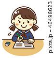 中学生 高校生 テストのイラスト 46498623