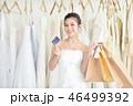 買い物袋 ウェディング 洋服の写真 46499392