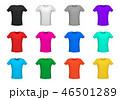 Set of diferent t-shirt, vector illustration 46501289