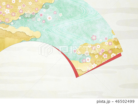和紙の風合いを感じる日本画 46502499