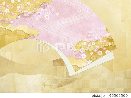 和紙の風合いを感じる日本画 46502500
