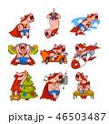ぶた ブタ 豚のイラスト 46503487