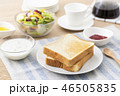 朝食 朝ごはん 食事の写真 46505835