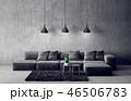 ソファ ソファー 長椅子のイラスト 46506783