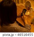 女性 夜 操作の写真 46516455