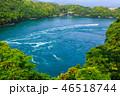 渦潮 風景 海の写真 46518744