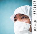 工場 マスク 無塵服の写真 46521125
