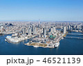 海 建物 ビル群の写真 46521139