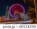 日本 夜 高層ビルの写真 46528399