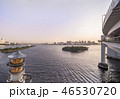 レインボーブリッジ お台場 東京湾の写真 46530720