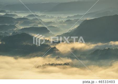 加久藤盆地の雲海 46533403
