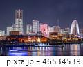港 建物 夜の写真 46534539