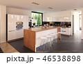 キッチン 厨房 台所のイラスト 46538898