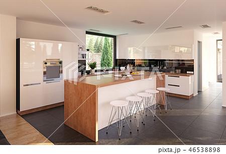 modern kitchen 46538898