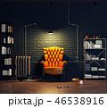 インテリア 空間 部屋のイラスト 46538916