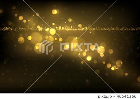 Sparkling golden particles background 46541366