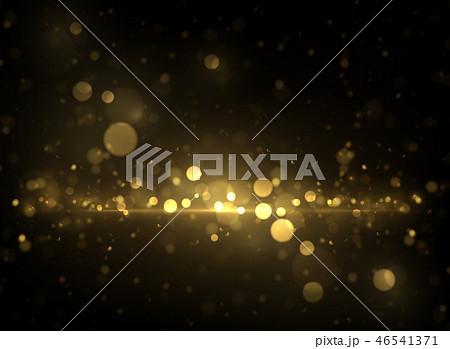 Sparkling golden particles background 46541371