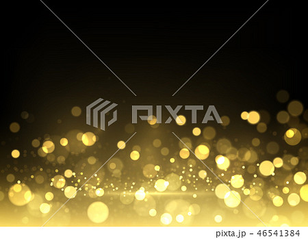 Sparkling golden particles background 46541384