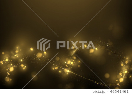 Sparkling golden glitter dust  46541461