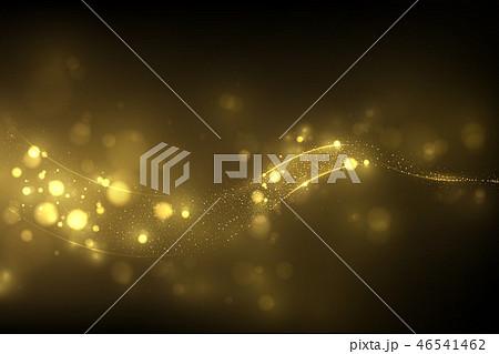 Sparkling golden glitter dust  46541462