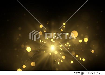 Sparkling golden particles background 46541470
