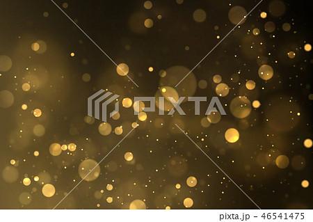 Sparkling golden particles background 46541475