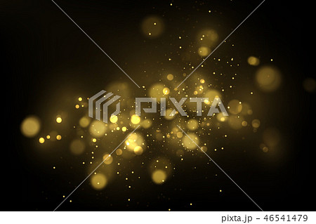 Sparkling golden particles background 46541479